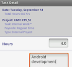 CapTech Time Tracking for Android